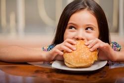 kid eating 1