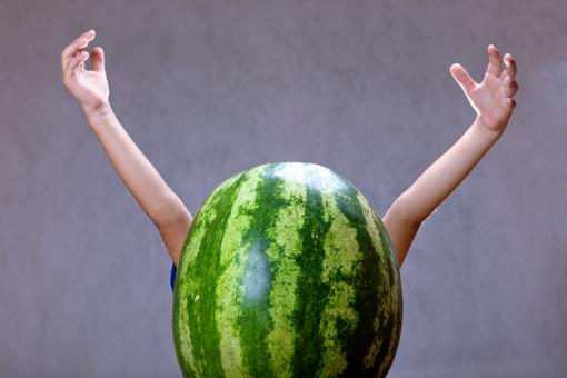 watermelon child