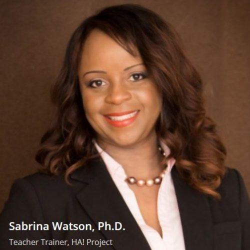 SandraWatson, Teacher Trainer